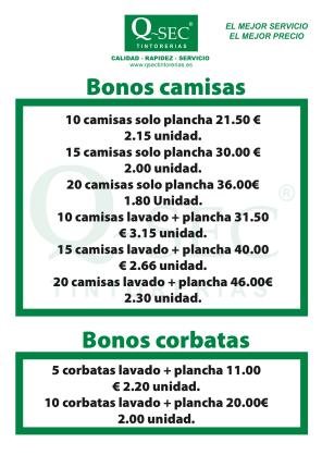 Cartelito Bonos