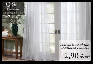 Limpieza de cortinas y visillos